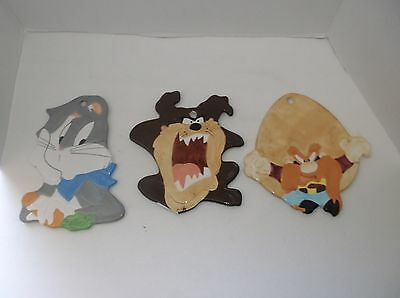 1993 Looney Tunes Certified International Taz Bugs Bunny Yosemite Sam Trivet