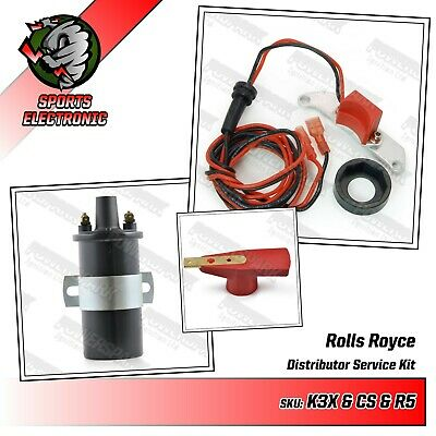 Rolls Royce Silver Shadow Electronic ignition 35D Kit & standard coil
