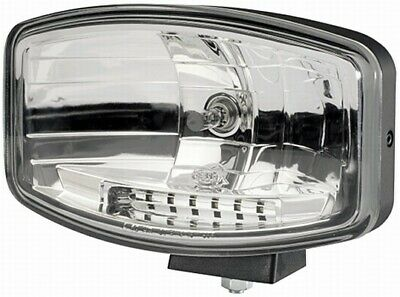 Brand New Hella Jumbo 320FF Halogen Driving Lamps with LED Side + Running Light