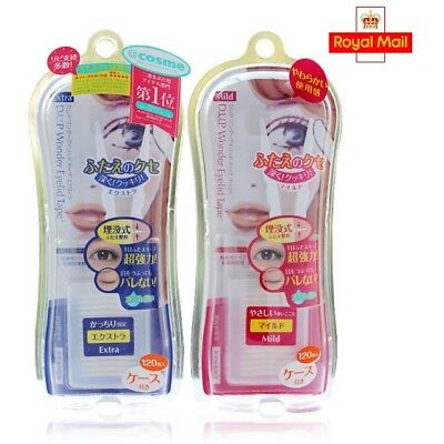 DUP D.U.P Wonder Eyelid Tape - Japan - Invisible - UK seller