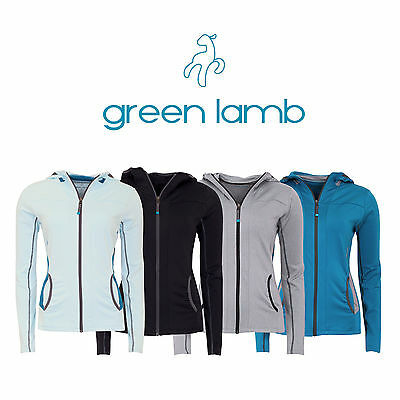 45% OFFNew Green Lamb Ladies Yoga Fitness Running Jacket Top Hoodie Womens