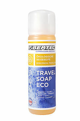 Ökologische Reiseseife Fibertec Travel Soap Eco 250 ml
