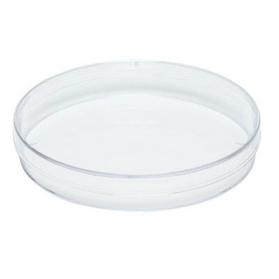 Karter Scientific Plastic Petri Dishes, 90x15mm, 3 Vents, Sterile - (pack of 10)