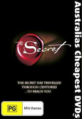 THE SECRET  Rhonda Byrne DVD NEW, FREE POSTAGE WITHIN AUSTRALIA REGION ALL