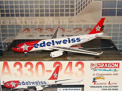 Dragon Wings Edelweiss A330 -200 1/400 item 55305 **Free S&H**