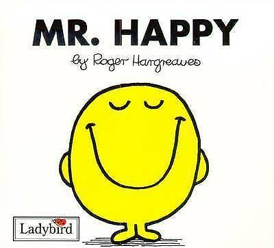 NEW (3)  MR HAPPY  ( BUY 5 GET 1 FREE book )  Little Miss Mr Men