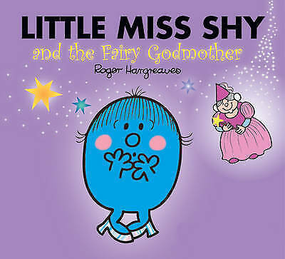 NEW sparkly LITTLE MISS SHY and FAIRY GODMOTHER (BUY 5 GET 1 FREE book) Mr Men