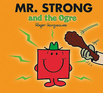 NEW sparkly MR STRONG and the OGRE (BUY 5 GET 1 FREE ) Little Miss Men