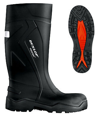 B-Dri Dunlop Purofort Thermo To -20°C  Full Safety Wellington Black - C762041
