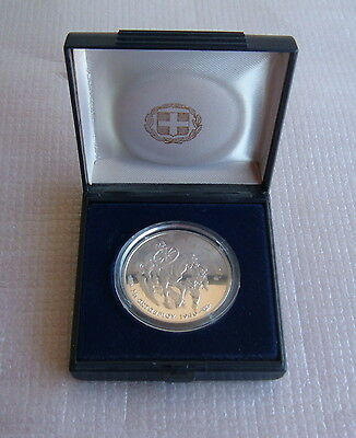 A Rare Greek Proof Silver Coin 1000 Drachmas (Only 7000 Pieces)