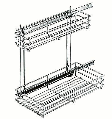 Closet Organizer 8.5x16.5x18.5in Cleaning Pull-out Kitchen Extract 517909