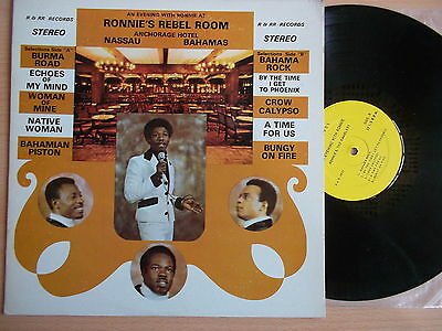 LP Ronnie & The Ramblers.An evening with.R an R Records.Mr.Bahama.Butler VG++