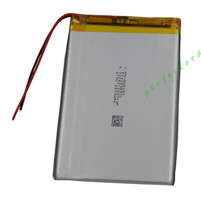 3.7V 2500 mAh Polymer Li Lithium cells For GPS Mp4 Mp3 Camera Tablet PC 406090