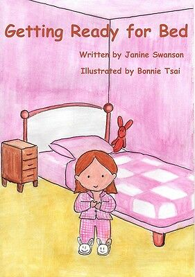 Personalised Childrens Story Book (GETTING READY FOR BED)