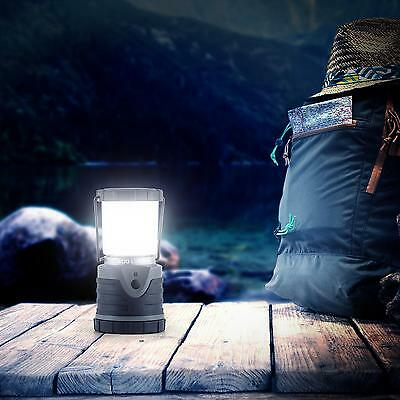 Led Camping Lampe 150Std Outdoor Laterne Campingleuchte Campinglaterne Cree Grau