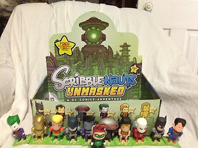 Scribblenauts Unmasked: Series 1 Complete Set With Box