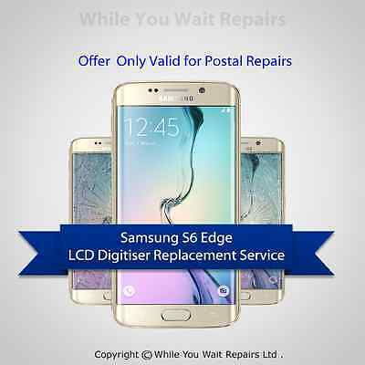 Samsung Galaxy S6 Edge LCD Digitizer + LCD Screen Repair Replacement Service