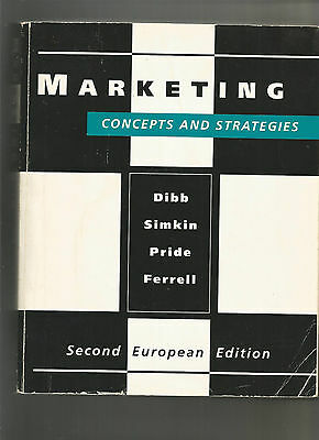 Marketing concepts and stratégies
