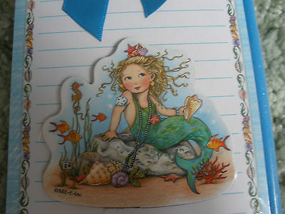 Mary Engelbreit Mermaid Gift Set 2 Note Pad Magnet Pencil Cape Shore New
