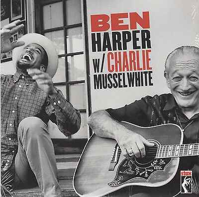 "BEN HARPER & CHARLIE MUSSELWHITE Don't Look Twice US vinyl 7"" SEALED/NEW"
