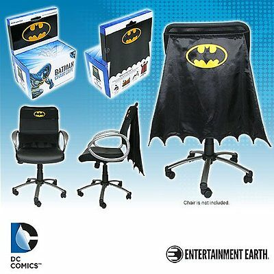 "BATMAN "" CHAIR CAPE"" DC Comics NEW IN PACKAGE"