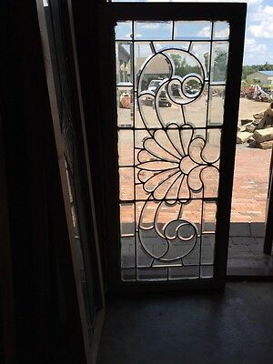 "Sg 244 All Beveled Antique Window 24"" X 52.5"""