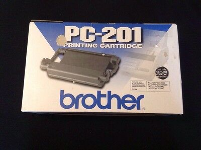 Brother Genuine Factory PC-201 Printing Cartridge New PC201