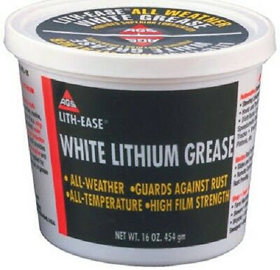 AGS LB, White Lithium Grease, All Weather