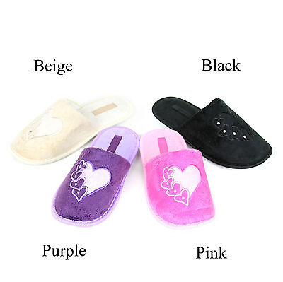 New Women's House Shoes Soft Warm Plush Cotton Suede Indoor Home Slippers
