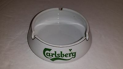 Rare Vintage Carlsberg Beer Chinese Cigarette Ashtray Tobacciana Collectible