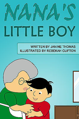 Personalised Childrens Story Book (NANA'S LITTLE BOY)