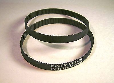 2 Replacement Toothed Belts 491937-00 1347220 For Delta 31-460 Type 2 & 3 Only