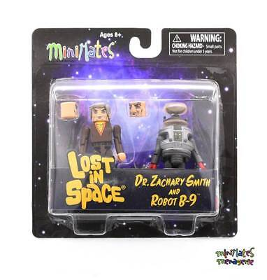 Lost in Space Minimates Dr. Zachary Smith & Robot B-9 Color 2-Pack