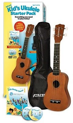 Alfred's Beginner Kid's Ukulele Course Complete Starter Pack with Everything!