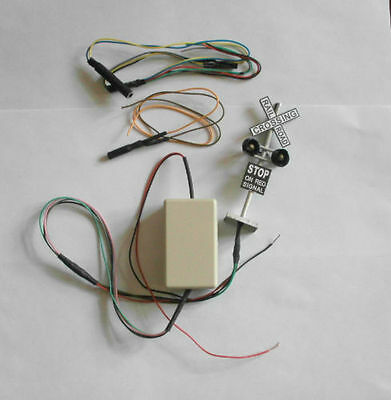 Z28.2 pcs signals.Flash Electric circuit,Infrare switch,12V,O scale signal