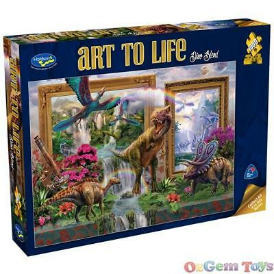 Holdson Jigsaw Puzzle 1000 Pieces Art To Life Dino Blend