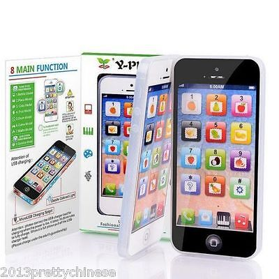 Y-Phone Educational Learning Baby Kids Toy iPhone 4s 5 Childs Plus USB Cable