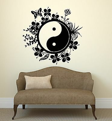 a3b148aaf4 Wall Decal Yin Yang Tai Chi Chinese Philosophy Patterns Vinyl Stickers  (ig2805)