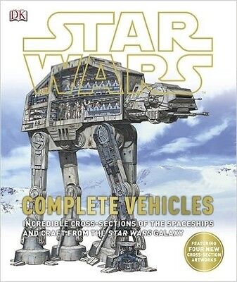 NEW Star Wars Complete Vehicles Book HardBack By Kerry Dougherty