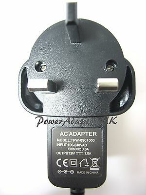 500Ma/0.5A 9V Ac/dc Mains Uk Switch Mode Power Adaptor/supply/charger Regulated
