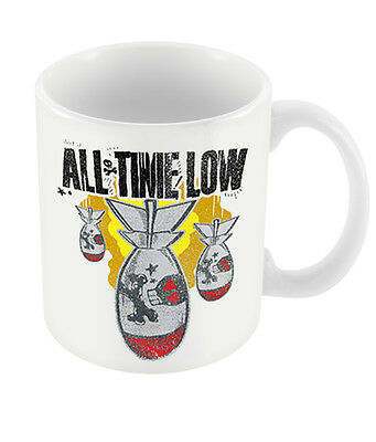 Official All Time Low Da Bomb Ceramic Mug New Boxed Pop Punk Band Merch Coffee