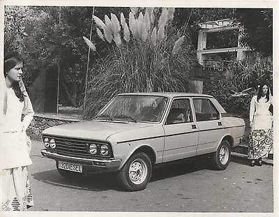 SEAT 132 (Mercedes-Benz 2.0 Diesel) Press Photograph - Late 1970's