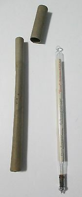 Vintage Tycos Churn Glass Thermometer Rochester, N.Y., USA Made in Germany