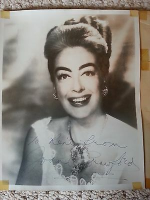 Joan Crawford Signed Photograph & Two Signed Letters