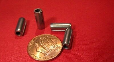 """420 Stainless Steel Coiled Spring Pin, 3/16"""" Dia x 1/2"""" Length, 25 pcs"""