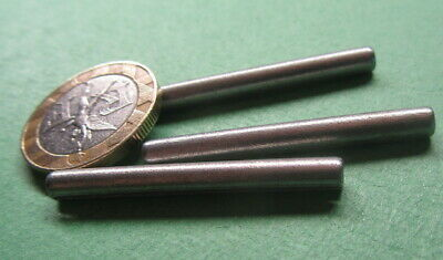 """Zinc Plate Steel Slotted Roll Spring Pin, 5/32"""" Dia x 1 1/2"""" Length, 200 pcs"""