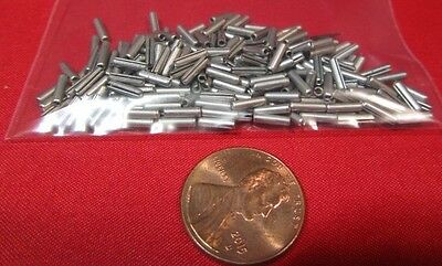 "420 Stainless Steel, Slotted Roll Spring Pin, 1/16"" Dia x 1/4"" Length, 200 pcs"