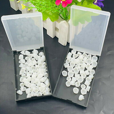 2 Pcs New Dental Temporary Crown Material For Anterior+Molar Teeth