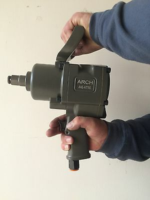 "3/4"" Pneumatic Air Impact Wrench Rattle Gun Air Tool, Twin Hammer, Heavy Duty!"