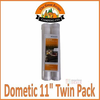 "DOMETIC Twin Pack 11"" Vacuum Sealing Sealer Rolls Food Storage System Cryovac"